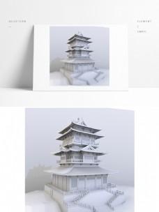 中国古典建筑之塔楼