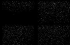 飘雪PNG免抠4K素材