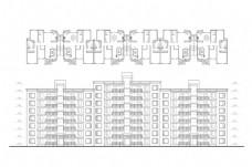 住宅建筑CAD施工图纸