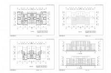 住宅楼建筑立面CAD施工图