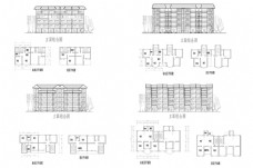 住宅建筑CAD施工图