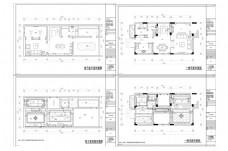 联排别墅欧式风格CAD施工图