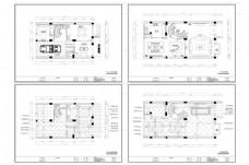 欧式风格别墅装修CAD图纸