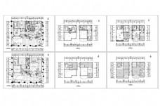 别墅欧式风格设计CAD施工图