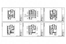 别墅豪装欧式风格CAD图纸