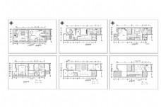 联排别墅欧式风格装修CAD施工图