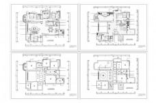 欧式风格别墅CAD图纸