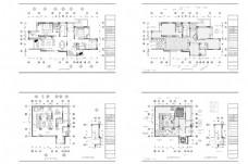 别墅装修欧式风格CAD施工图纸