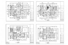 独栋别墅欧式装修CAD施工图