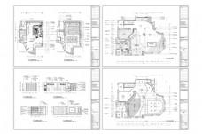 欧式风格别墅设计CAD施工图