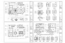 豪华别墅欧式风格设计CAD施工图