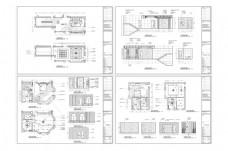 别墅装修欧式风格CAD图纸