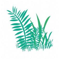 夏天青草绿色