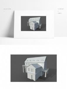 欧式建筑洋房别墅