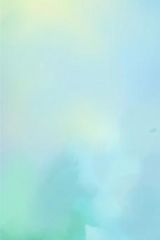 唯美梦幻水彩风格蓝色绿色渐变背景图