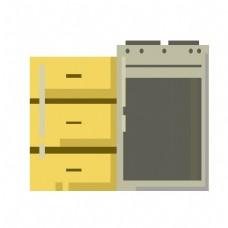 储物柜室内家具