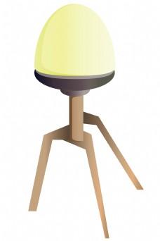 黄色小台灯灯饰