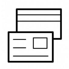 黑色创意商务文件元素