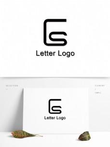 ES字母logo