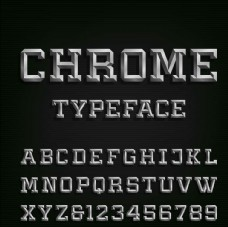 3D立体字母数字