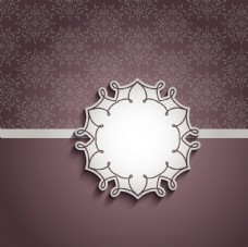 欧式花纹边框