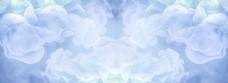 质感烟雾灰蓝色通用底纹海报背景图