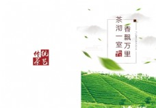 茶叶画册封面