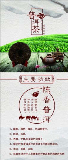 普洱茶展架