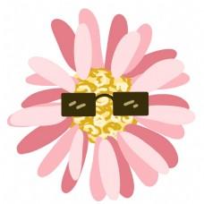 眼睛装饰花蕊