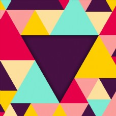 彩色几何背景