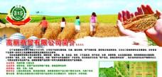 农业产品展板