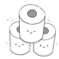 三卷立体卫生纸