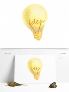 创意想法idea思路灯泡