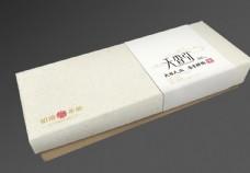茶叶麻布盒子效果图