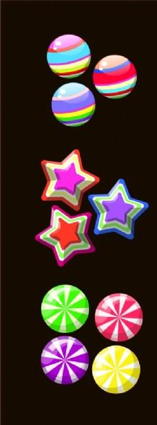 创意 糖果 西瓜糖 星星 硬糖