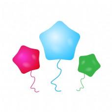 六一儿童节星星气球