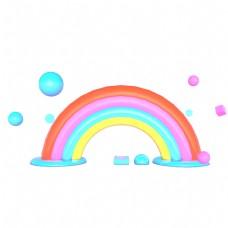 彩色的拱门免抠图