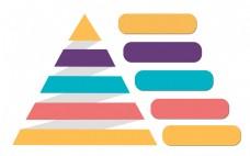 三角图案PPT装饰