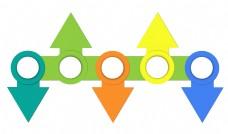 分割线箭头PPT设计