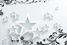 五角星背景