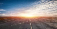 创意机场路面跑道