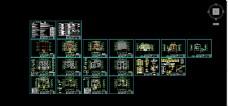 建筑结构水电图施工图t3