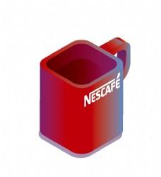 2.5D咖啡杯