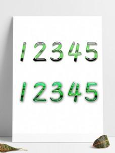绿色渐变透明ps渐变图层样式