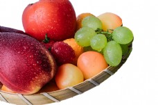 一盘美味水果