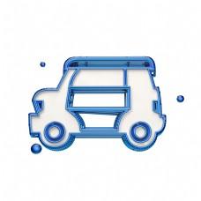 立体创意汽车图标