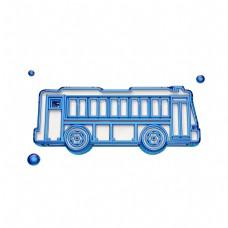 立体公共汽车图标