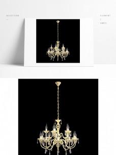 现代简约欧式风格金色吊灯