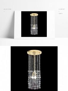 现代创意金色水晶吊灯
