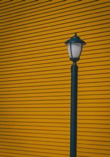 黄色墙背景
